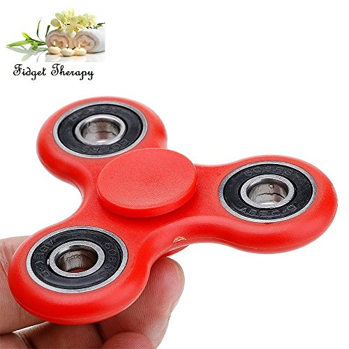 C63® Red High Quality Fidget Spinner. Retail Boxed - Decompression Hand Spinner Toy With Premium Hybrid Ball Bearings Test