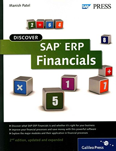 [(Discover SAP ERP Financials)] [By (author) Manish Patel] published on (November, 2012)