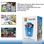 Keep Safe Anti-Theft Portable Travelsafe Lock Box. Gifts for Men. For Beach, Car, Caravan, Camping, Sports, Travel…