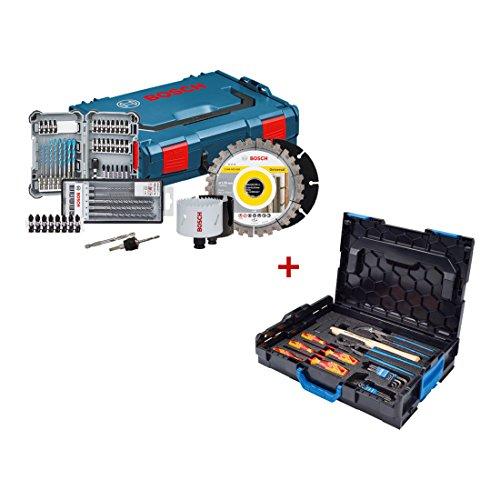 Preisvergleich Produktbild Bosch Professional Werkzeug-Set Professional Set, Elektriker-Box + Gedore-Box