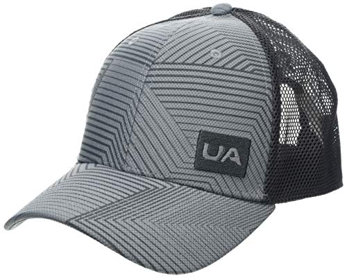 Under Armour Herren Blitzing Trucker 3.0 Kappe, Steel/Graphite/Charcoal (035), OSFA
