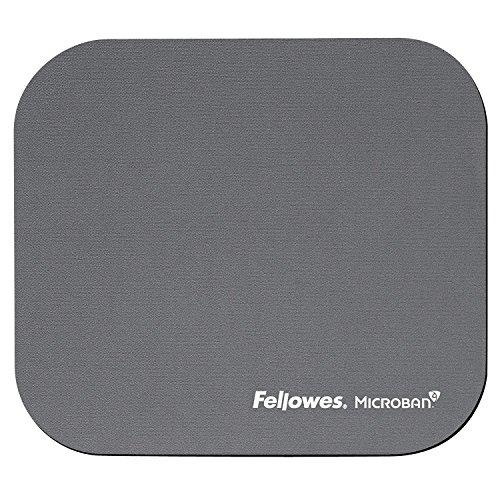 Fellowes Microban antibakteriell rechteckig Mauspad silber (Fellowes Maus Schwarz)