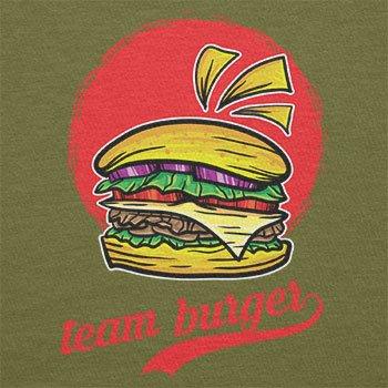 Texlab–TEAM Burger–sacchetto di stoffa Oliva