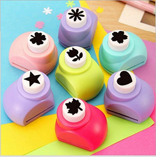 Lukzer Set Of 3 Craft Paper Punch To Make School Projects Attractive...