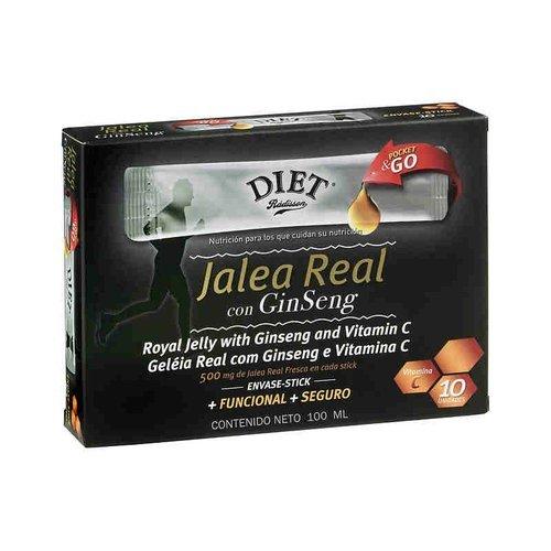 Jalea Ginseng 10 unidades de Diet-Radisson
