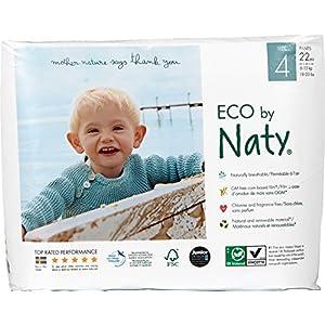 Naty by Nature Babycare Öko Höschen-Windeln – Größe 4 (8-15 kg) (1 x 22 Stück)