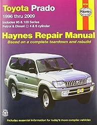 Toyota Prado (96 - 09): 1996 to 2009 (Haynes Service and Repair Manu)
