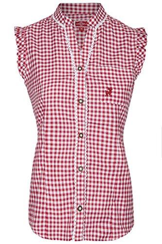 Damen Trachtenbluse Vroni (32, (Trachten Shirt)