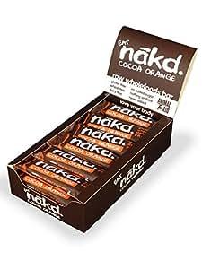 Nakd Cocoa Orange Gluten Free Bar 35 g (Pack of 18)