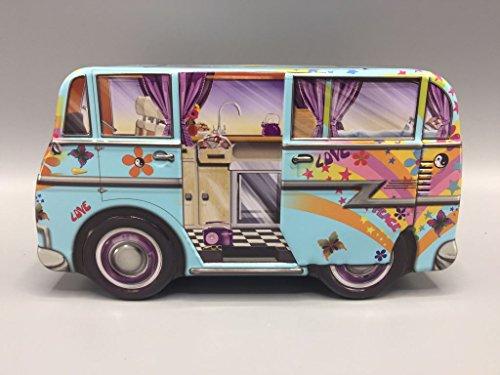 Preisvergleich Produktbild The Silver Crane Company - Dose - Mini Camper Van Hippy - 171 x 93 x 81 mm