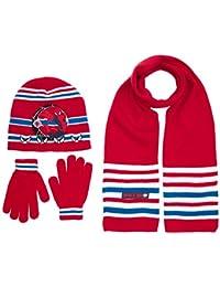 Marvel Boy's HO4367 Spiderman Hat/Gloves/Scarf
