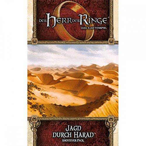 Herr der Ringe: Kartenspiel LCG - Jagd durch Harad - Abenteuer-Pack (Haradrim-2) | Deutsch