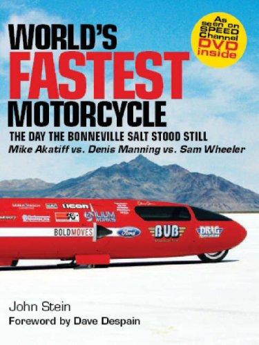 Worlds Fastest Motorcycles: The Day the Bonneville Salt Stood Still - Bonneville Salt Flats