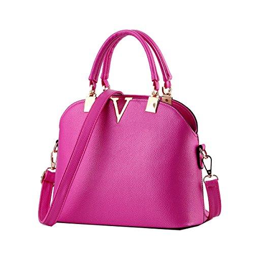Borse Di Modo Marea Yy.f Guscio Sacchetto Sacchetto Diagonale Tracolla Estrinseca Modo Intrinseca E Pratico. Multicolore Pink
