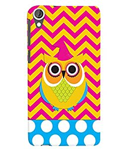 Citydreamz Owl\Cartoon Hard Polycarbonate Designer Back Case Cover For HTC Desire 630/HTC Desire 630 Dual Sim