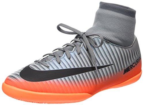Nike Unisex-Kinder MercurialX Vcty 6 Cr7 Df Ic Fußballschuhe, Grau (Cool Grey/MTLC Hematite-Wolf Grey-Total), 35 EU