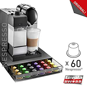 Tavolaswiss, Cassetto Di 60Capsule Per Macchine Da Caffè Nespresso