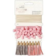 Papermania Capsule, Tela, Moroccan Haze, Embellishments Pack (10 Pieces)