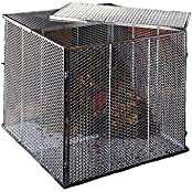 Brista 100x100x80cm silber Komposter (546968)
