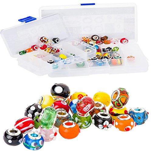 rkc-colorato-vetro-charm-buy-5-a-100-pezzi-argento-mix-multicolore-tema-murano-lume-europea-charm-di
