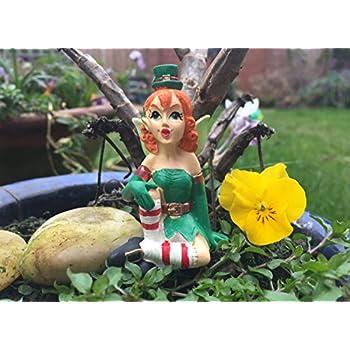 Irish Magical Leprechaun Fairy Garden Ornament   Keeping WatchSet of Four Lucky Irish Leprechaun Figures 9   11cm Home   Garden  . Fairy Garden Ornaments Ireland. Home Design Ideas
