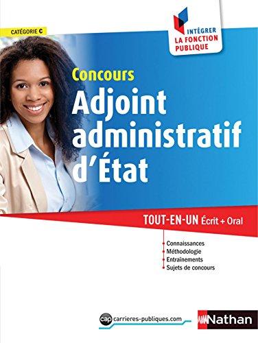 Concours Adjoint administratif d'état