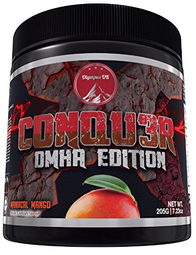 olympus-labs-conqu3r-neue-version-most-hardcore-booster-trainingsbooster-bodybuilding-205g-mango