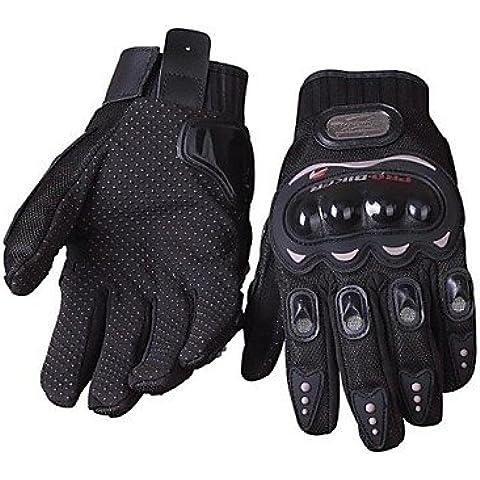 DZXGJ® guantes de moto antideslizante guantes de carreras de motos transpirable , xl-dark ,