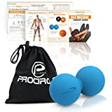 PROCIRCLE® Peanut Massage Ball - Perfect for Physical Therapy, Muscle Knot Relief, Myofascial Release and Deep Tissue Massage - Double Massage Ball, Double Lacrosse Ball, Stress Ball, Mobility Ball - PROCIRCLE - amazon.it