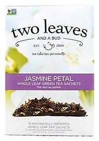 TWO LEAVES & A BUD TEA JASMINE PETAL, 15 BG