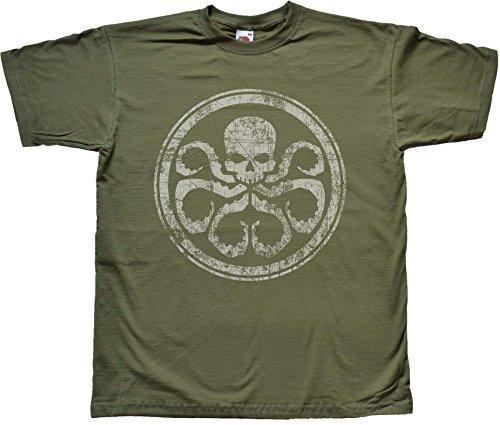 Grün Hydra T Shirt Extra Large (Spider T-shirt Grünen)
