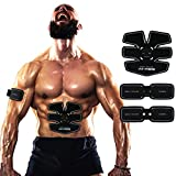 Elettrostimolatore Muscolare Training Uomo/Donna Addominali/Gambe/Glutei Massaggi-fascia USB Ricaricabile--05(2 Apparato)