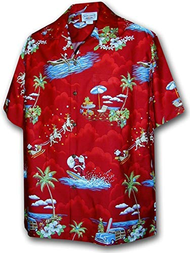 f46cf2f13 Hawaiian shirt christmas il miglior prezzo di Amazon in SaveMoney.es