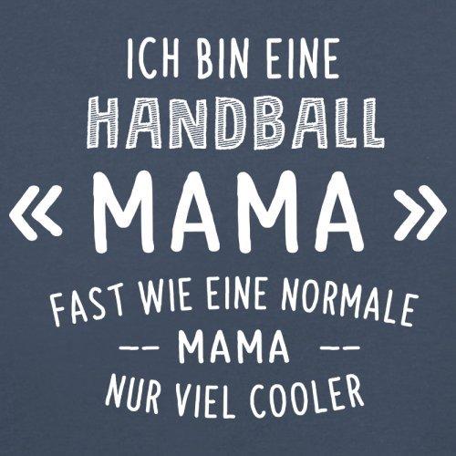 Ich bin eine Handball Mama - Damen T-Shirt - 14 Farben Navy