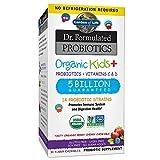 Dr. Formulated Probiotics, Organic Kids + - Garten des Lebens