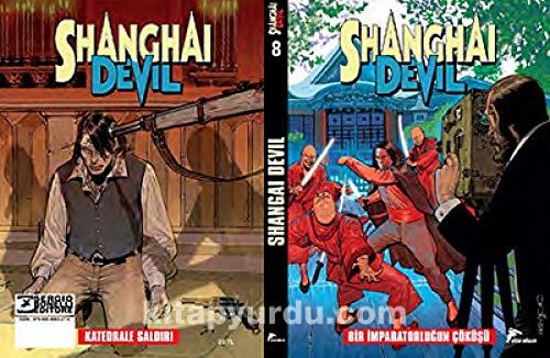 Shangai Devil 8 : Bir İmparatorluğun Çöküşü, Katedrale Saldırı: Shangai Devil 15-16 par Gianfranco Manfredi