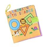 NON Sharplace Libro de Aprendizaje para Bebés para Aprender Reconocer Color,Imágenes de DIY - Forma # 1