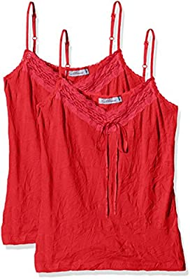 Joe Browns Women's Vibrant Versatile Cami (2 Pack) Sleeveless Vest