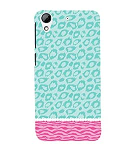 Sea Cheeta Pattern 3D Hard Polycarbonate Designer Back Case Cover for HTC Desire 626 G::HTC Desire 626G Plus::HTC Desire 626G+