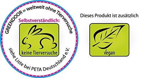 Family Pack Greendoor Deo Creme: 5 x 50ml + 5 Kosmetikspatel gratis - Creme Deodorant ohne Aluminium-Salze, ohne Konservierungsmittel, vegan, ohne Alkohol, selbstverständlich ohne Tierversuche - Naturkosmetik direkt vom Hersteller - Deocreme Cremedeo sensitiv Sparpackung Set Sparset - 3