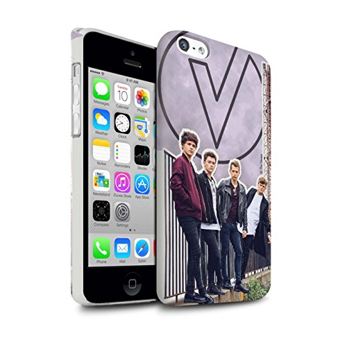 Offiziell The Vamps Hülle / Matte Snap-On Case für Apple iPhone 5C / Pack 5Pcs Muster / The Vamps Doodle Buch Kollektion Ausgeschnitten