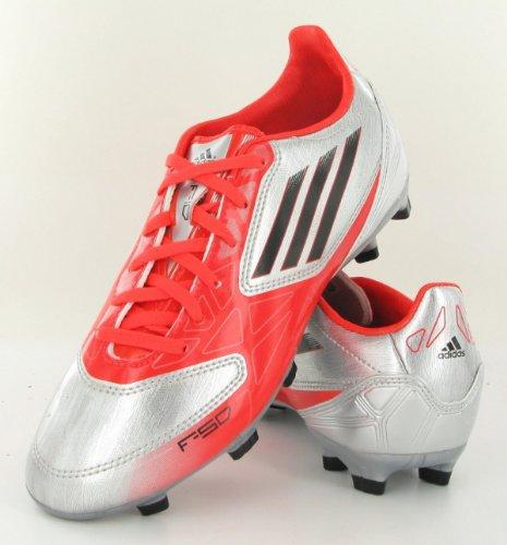 Adidas F10 TRX FG Fußballschuh KINDER Silber