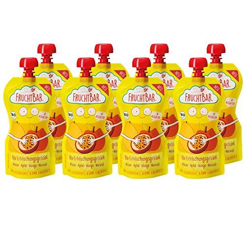 FruchtBar Bio Erfrischungsgetränk Mango Maracuja, 8x250ml (Papaya-saft Bio)