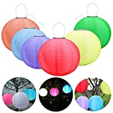 Solar Laterne Im Freien Wasserdichte SSLW Solar Hängelampe LED Hängenden Laterne Chinesischen Stil Feier Lampe Weihnachten , white