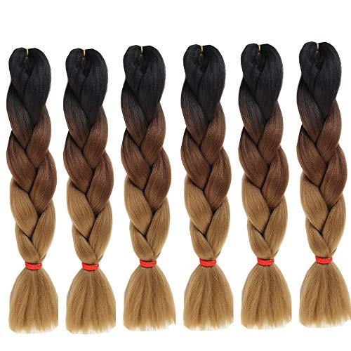 Jumbo Braids Hair Extensions & Wigs S-noilite 41 Synthetic Braiding Hair Crochet Hair Extensions Jumbo Braids Hairstyles Crochet Braids Blue Pink Blonde Hair With Traditional Methods