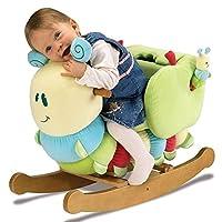 MTS Children Kids Plush Rocking Horse Caterpillar Ride on Animal Toy