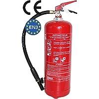 Extintor 6kg polvo CE Neuf 2017