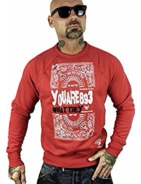Yakuza Original Herren No Matter Pullover Sweater