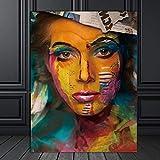 Leinwanddruck,Wand Kunst Bild Leinwand Gemälde Moderne Wohnkultur Kunst Bunten Figuren Wand Bild Ausdrucken Für Wohnzimmer Kunst Dekorationen Für Wohnzimmer Für Wohnzimmer Zum Schlafzimmer Hom