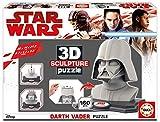 3D Sculpture - Puzzle con diseño Darth Vader (Educa Borras 16500)